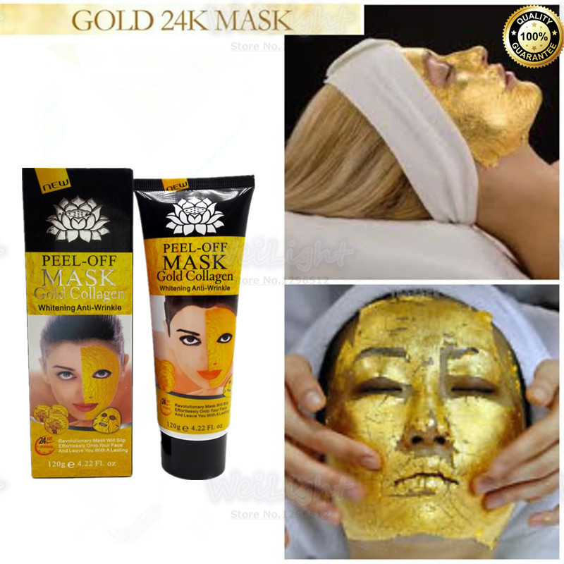24K gold anti wrinkle sleep facial mask face care acne