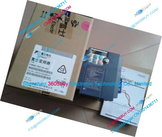 New Original Economic frequency converter FRN0.75C1S-4C 380~480V 2.5A 1~400Hz 0.75KW with keypad