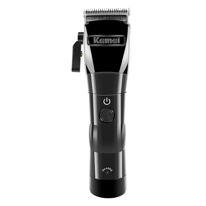 Kemei Km-2850 Fader électrique tondeuse à cheveux électrique puissant rasoir tondeuse sans fil Machine de découpe coupe de cheveux style trop