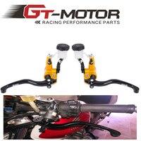 GT Motor Motorcycle 16x18 Adelin Brake Master Cylinder AND 16x18 Adelin Clutch master cylinder
