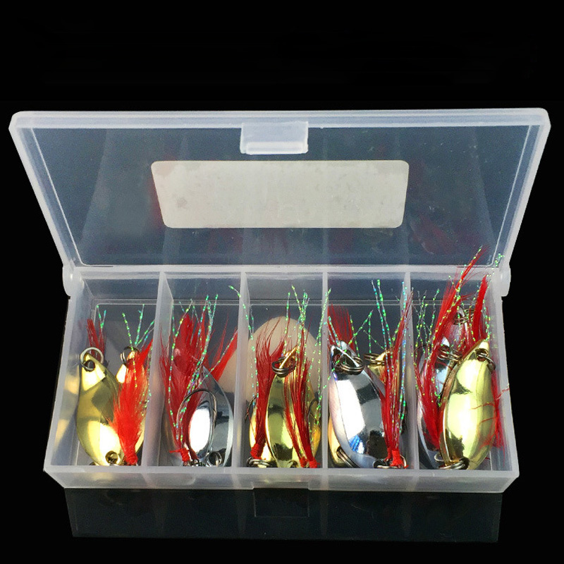 13PCS Fishing Lure Set Metal Lure Shad Artificial Bait Fishing Lures China Metal Peche Fishing Bait Lure Minnow Carp Tackle Gear