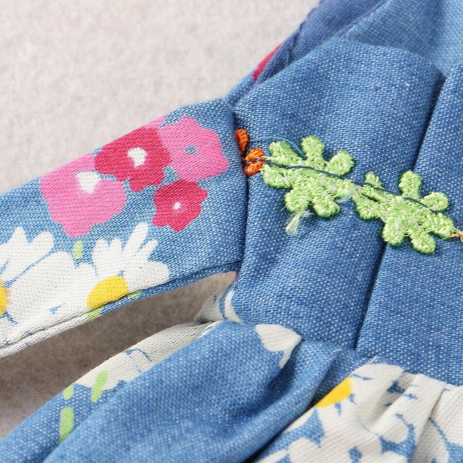 Copii de vară Rochie de îmbrăcăminte pentru fete Rochie de flori - Haine copii - Fotografie 5