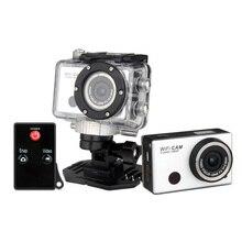 Full hd 1080 P водонепроницаемая цифровая камера с отдаленных управления wi-fi спорт цифровая видеокамера бесплатная доставка