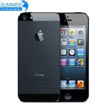 Оригинальное разблокирована Apple IPhone 5 сотовых телефонов Dual Core 16 ГБ/32 ГБ 8MP Камера 4.0 дюйм(ов) WI-FI GPS 3 г IOS используется мобильный телефон