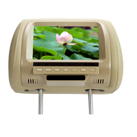 High quality Factory direct 7 inch TFT LCD screen pillow monitor DC 12V dual video inputs beige color SH7038|video input|7 inch tft lcd|7 inch tft -