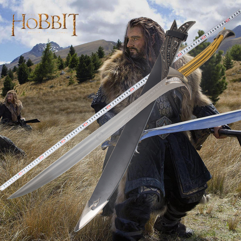 The Hobbit Thorin Oakenshield Movie Sword Orcrist Toy Home Furnishings Send A Boyfriend's Boutique 70cm/99cm