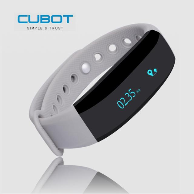 CUBOT Original V2 Inteligente Pulseira All-weather Monitor de Freqüência Cardíaca banda Real-time Sport Trail Lembrete Inteligente para iOS android