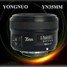 Free shipping!Yongnuo YN35MM 35mm F/2 Lens AF/MF Wide-Angle Auto Lens for Ni kon DSLR Camera