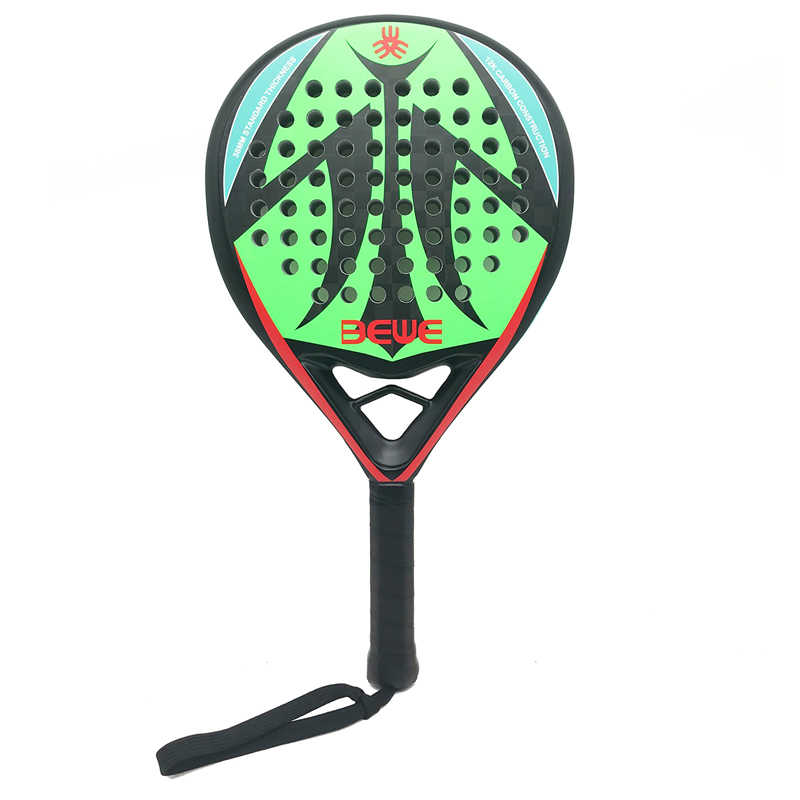 Free Shipping Fast Delivery BEWE 12K Carbon Surface Padel Tennis Racket