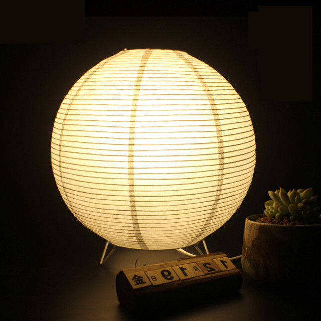 Captivating Simple Life Creative Decorative Lamp Vintage Table Lamp Round Desk Lamp  Handmade Origami Nightlights Home Decoration