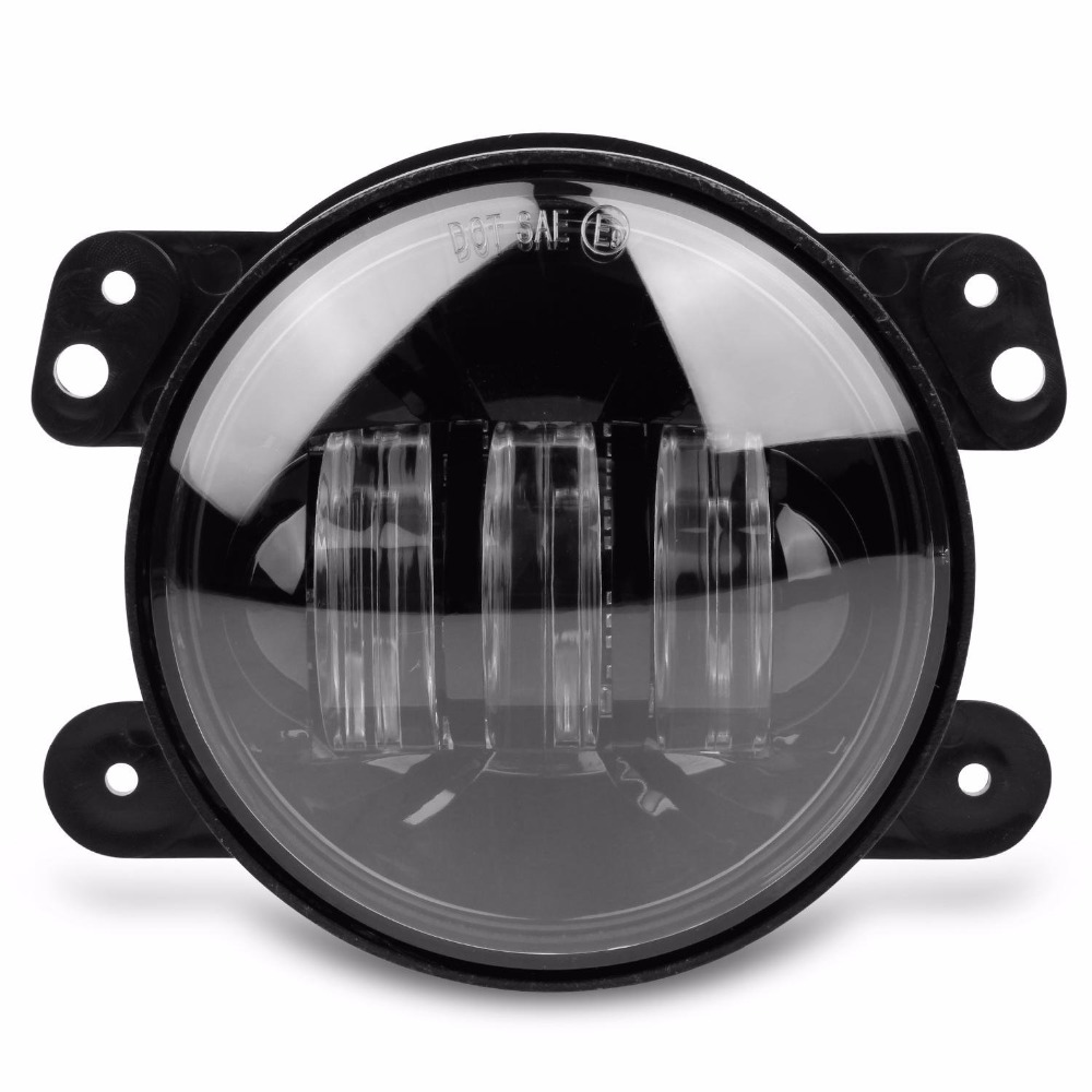 2pcs 4 Inch 30w Led Fog Lights Projector For Jeep Led Fog Lamps For Jeep  Wrangler Dodge Chrysler Front Bumper Lights In Car Light Assembly From  Automobiles ...