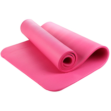 Women Body Building Health Weight Exercise Pad Thick Cushioned Pilates and Yoga Mat 182cm x 60cm x 15mm