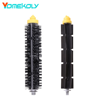 1Set Bristle & Flexible Beater Brush for iRobot Roomba 700 Series 600 700 Series 760 770 780 790 Vacuum Cleaner Replacement Kits ntnt free post new filters brush pack big kit for irobot roomba 700 series 3 armed 760 770 780