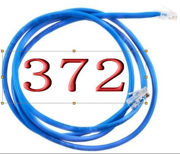 Câble Ethernet blindé A372 câble réseau FTP Cat5 Lan pour câble de raccordement Compatible câble Ethernet