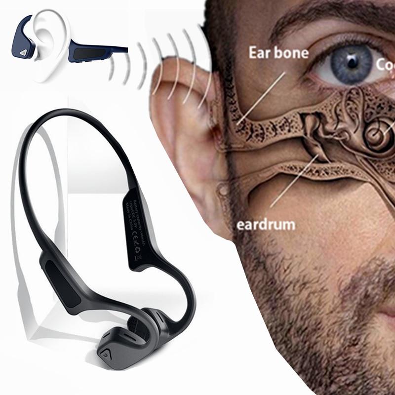 aaf9ecb85 ... auricular inalámbrico Bluetooth Eartip. Cheap Lf 18 de conducción ósea  deporte banda para el cuello de auriculares para Xiaomi Huawei