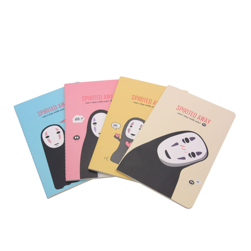 JOUDOO Japanese Cartoon Cute Kawaii School Supplies Creative Stationery A5 Pocket Notepad Travelers Notebook Diary Sketchbook