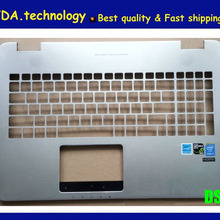 Bezel Keyboard Asus G551 MEIARROW FOR Palmrest Upper-Cover Silver 96%New