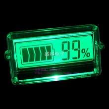 Новинка 2016 литиевая батарея Емкость батареи индикатор ЖК-дисплей цифровой процент остаточной емкости дисплей