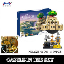 IN STOCK XingBao 05001 1179Pcs Genuine Creative MOC Series The City in The Sky Set Children Building Blocks Bricks Model Gift