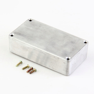 1Pcs Stomp Box Effects 1590B/1590A Style Aluminum Pedal Enclosure FOR Guitar sell Dropshipping(China)