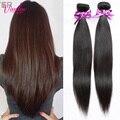 The Best Quality Peruvian Virgin Hair Straight 2 Hair Bundles Peerless Virgin Hair Top Hair Extensions Wholesale Price Color 1B