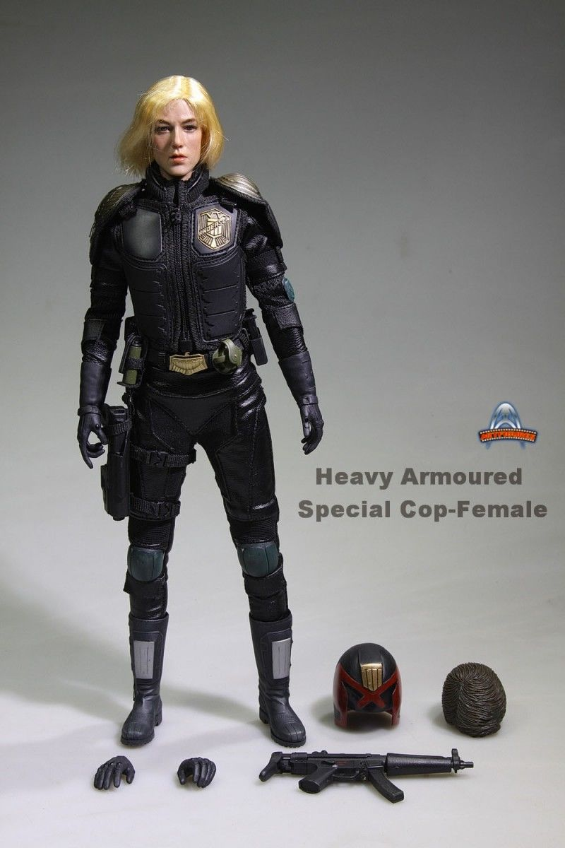 "1/6 Scale JUDGE ANDERSON 12"" Action Figure Heavy Armoured ..."