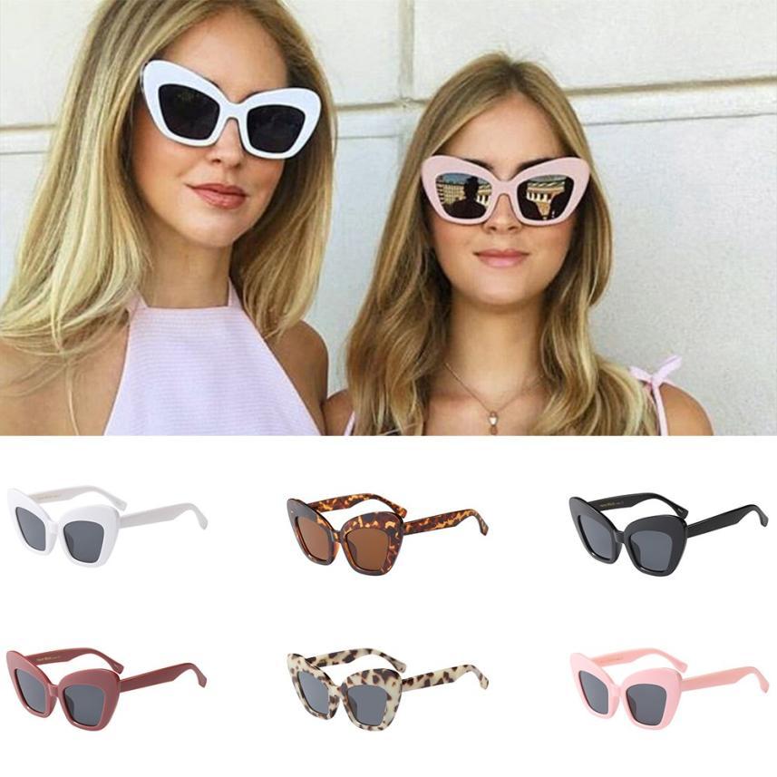 #5 2018 NEW Fashion Fashion Vintage Irregular Big Frame Sunglasses Retro Eyewear Fashion Ladies Man