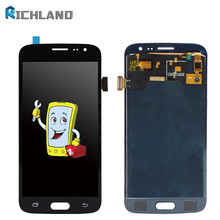 Can Adjust Brightness LCD For Samsung Galaxy J2 2016 J210 SM-J210F J210H LCD Display Touch Screen Digitizer Assembly Replacement цена