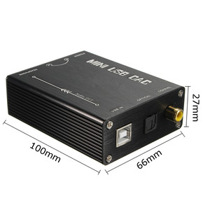 Image 5 - LEORY HIFI USB Sound Card DAC To S/PDIF PCM2704 Digital To Analog Audio Converter Optical Coaxial DAC Decoder PRO Converter