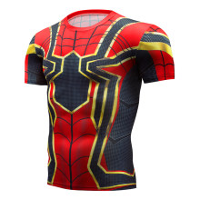 T-shirt Captain America U.S. Shield Civil War Tee 3D Print T-shirt Men's Marvel Avengers 3 Iron Man Workout Men's Jackets 2018(China)