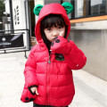 Duck Down Cartoon Animal Shape Children Jacket Girls Warm Girl Winter Duck Down & Parkas with Hooded for Babies 80-110cm
