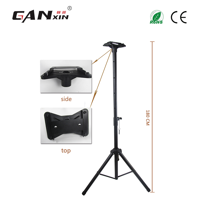 Ganxin Large flexible tripod stand led timer tripod extendable and foldable scoreboard holder