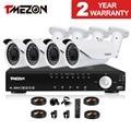 Tmezon AHD 4CH DVR 4pcs 2.0MP 1080P Camera 2.8-12mm Zoom Lens CCTV Security Surveillance System Outdoor Waterproof 1TB 2TB Set