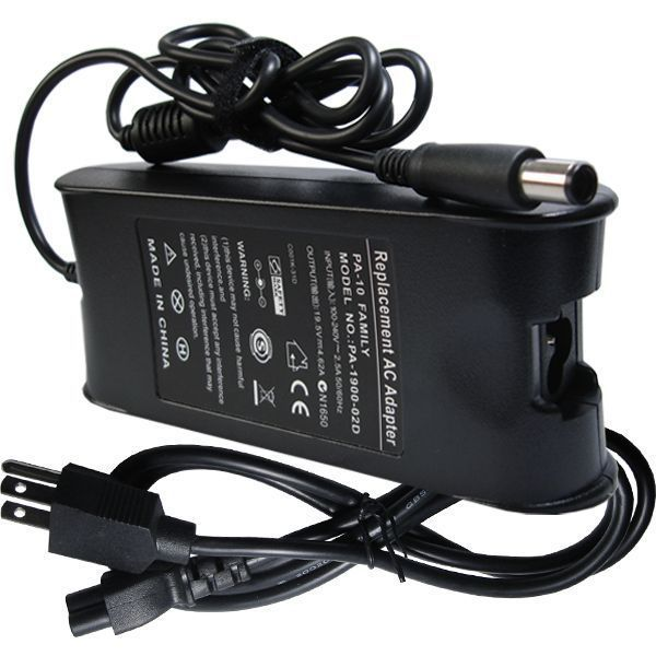 Ac Adapter Laptop Charger Supply 90W 19.5V 4.62A PA10 For Dell Inspiron 15R 1720