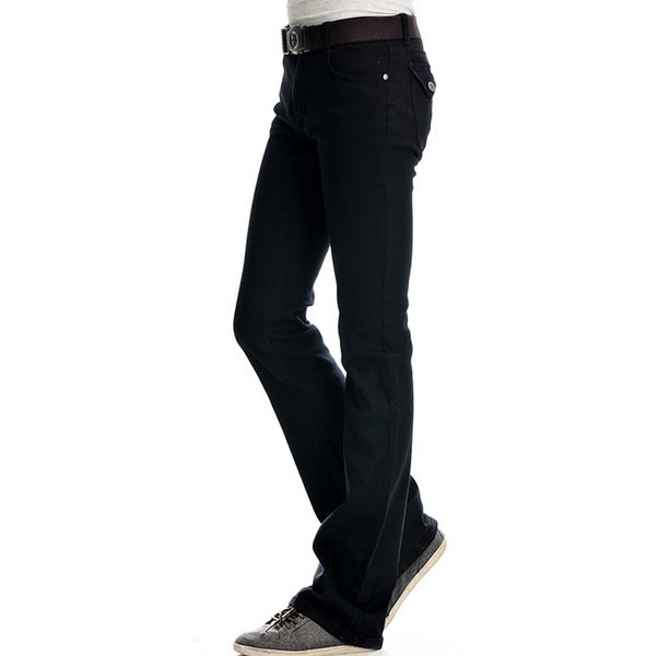 Online shopping for popular & hot Mens Flared Trousers from Men's Clothing & Accessories, Flare Pants, Women's Clothing & Accessories, Pants & Capris and more related Mens Flared Trousers like men's trousers flared, men's flared trousers, mens flared trouser, flared mens pants. European American style mens jeans luxury Men's black.