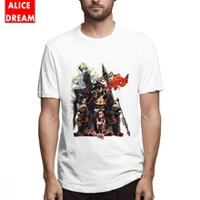 Gurren Lagann Tee Shirt For Male Graphic Homme Tee Shirt O-neck S-6XL Big Size Tee Cartoon Fashionable Nice T shirt graphic embroidery ringer tee