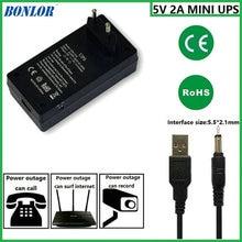 1 шт. 5V2A AC к DC мини адаптер бесперебойного Питание UPS обеспечить аварийное Мощность Резервное копирование на CCTV Камера без Батарея