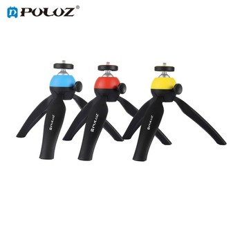PULUZ Mini Portable Pocket Tripod Mount with 360 Degrees Rotation Ball Head for Smartphones for GoPro for DSLR Cameras Low price pocket tripod pro