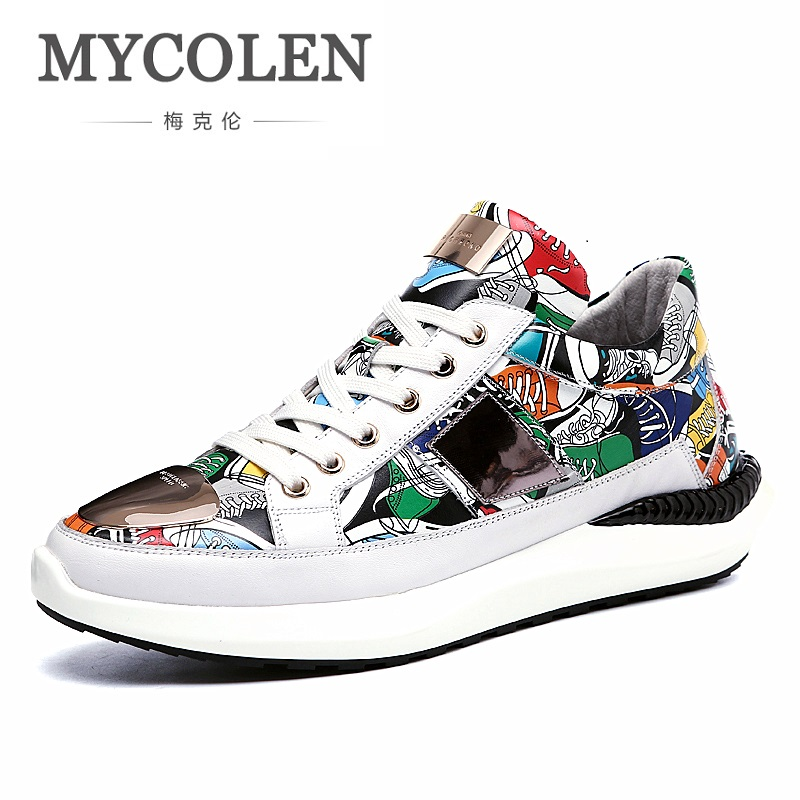 MYCOLEN 2018 New Spring Summer Men Casual Shoes Breathable Shoes Men Street Style Brand Personality Men Shoes Zapatilla Hombre 2016 brand new arrival spring summer men sjean slim regular fit stretchjeans pantalones vaqueros hombre calca asculina ml30