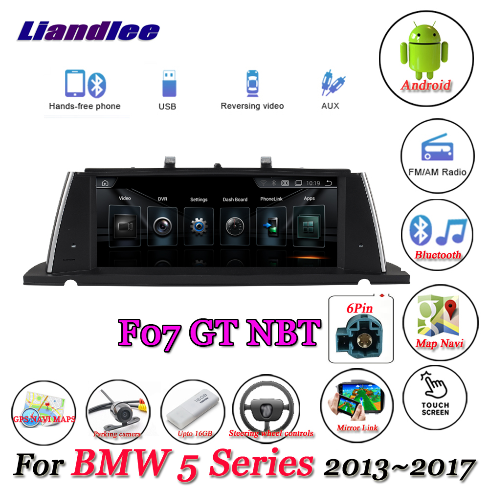 liandlee for bmw 5 series f07 gt 2013 2017 android. Black Bedroom Furniture Sets. Home Design Ideas