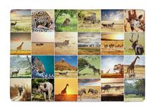 Floor Mat Creative African Animal wildlife Collages Print Non slip Rugs Carpets alfombra For font b
