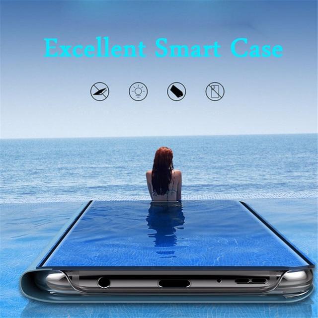 Mirror Flip Case For Samsung Galaxy A50 A51 A21s A71 A20e A12 A11 A31 A41 Note 20 S21 Ultra Cover on Samsung S20 FE S8 S10 Plus 3