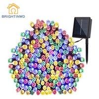 Solar For Garden Decoration Light String 200 LED 22M Courtyard Landscape Llights Outdoor Lighting Household Waterproof