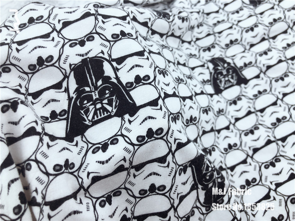 100*150cm cartoon Hero Robot Star Wars cotton elasticity Lycra knitted fabric printed diy baby boy clothing T-shirt fabric 100*150cm cartoon Hero Robot Star Wars cotton elasticity Lycra knitted fabric printed diy baby boy clothing T-shirt fabric