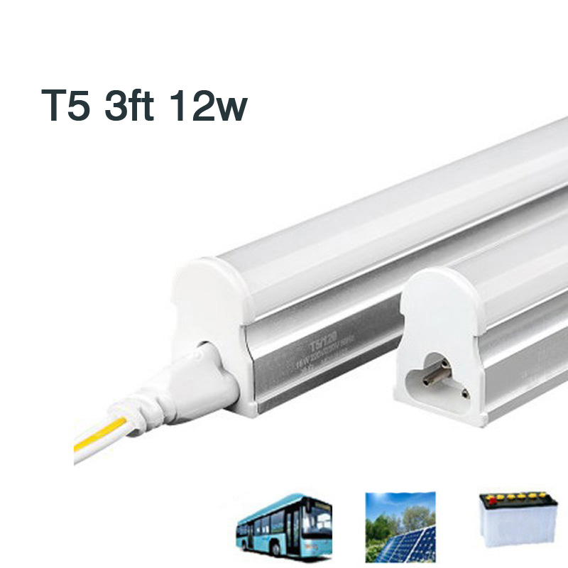 10 PCS/lot T5 3FT 12W DC 12V 24V LED tube light Bulbs ...