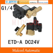 ETD A DC24V 1 4 Timing of drainage solenoid valve 2way 2position split type
