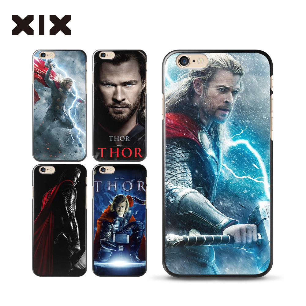 For fundas iPhone 6 6S case Avengers Thor hard PC cover for coque iPhone 6 6S case 2016 new arrivals for Apple iPhone 6S case