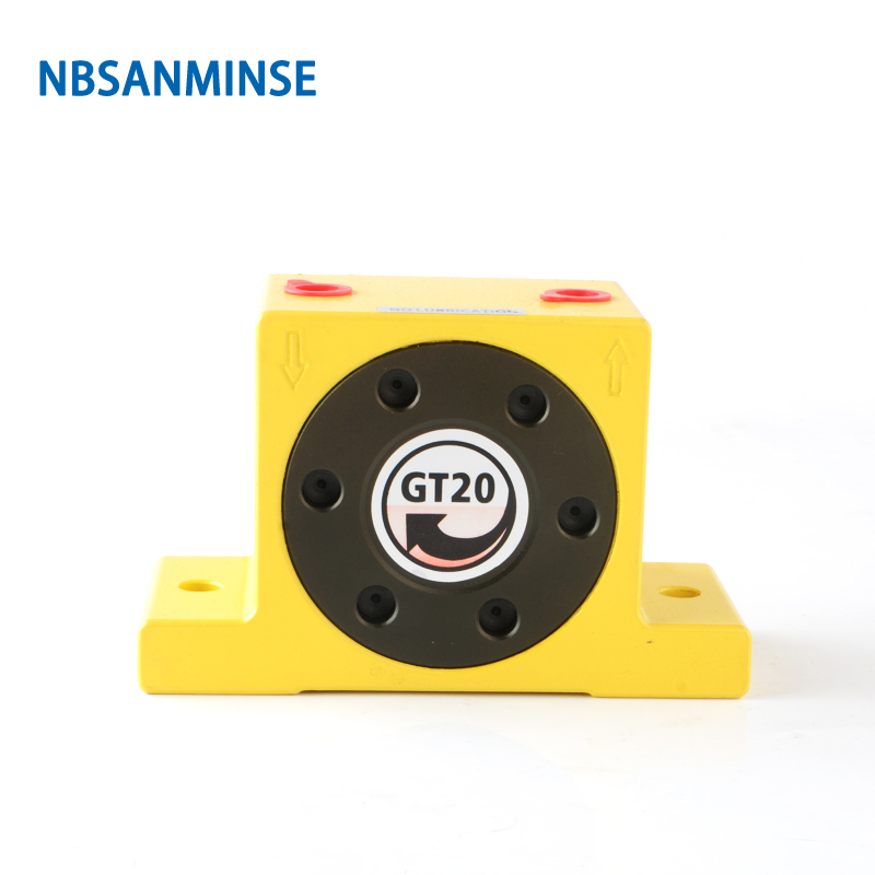 NBSANMINSE GT Pneumatic Turbine Air Vibrator Silo For food feeder and pharmaceutical industries Pneumatic Hammer