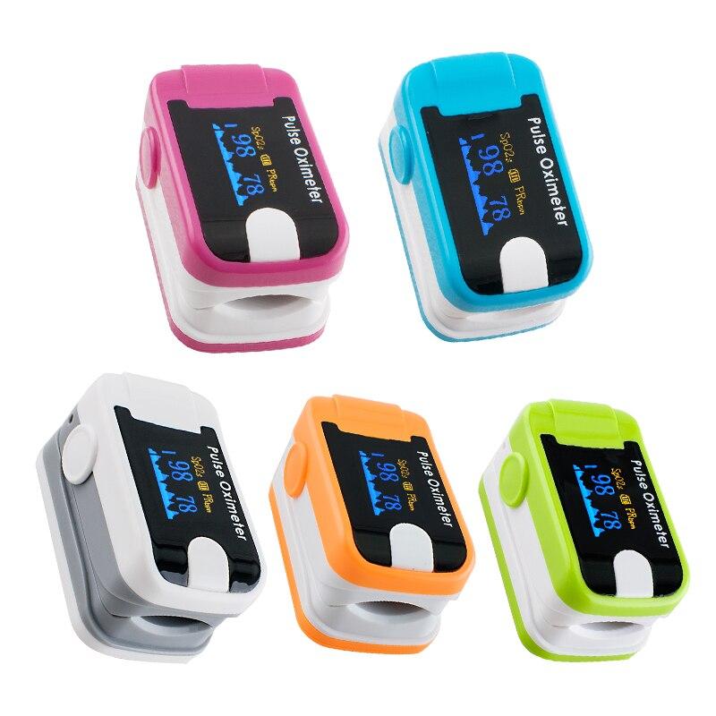 Health Care CE&FDA LED Display Finger Pulse Oximeter Blood Oxygen SPO2 PR Saturation Oximetro de dedo Monitor pulsioximetro