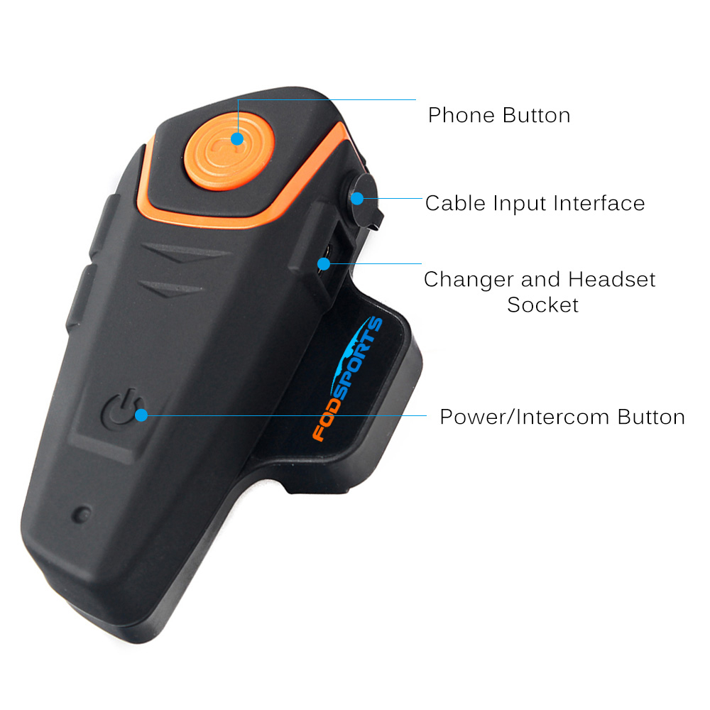 waterproof Interphone helmet bluetooth